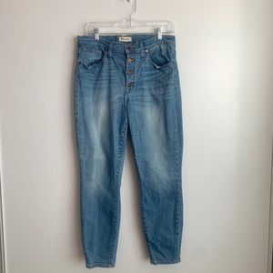 High Rise Madewell Jeans